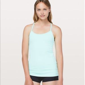 Lululemon power tank - green, size 4
